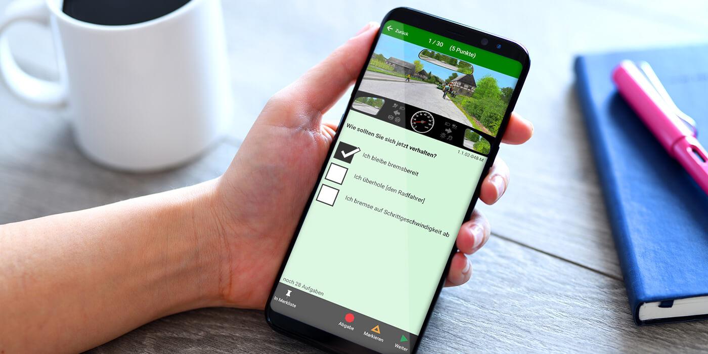 Führerschein App: Lernen für die Theorieprüfung mit App